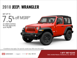 Get the 2018 Jeep Wrangler!