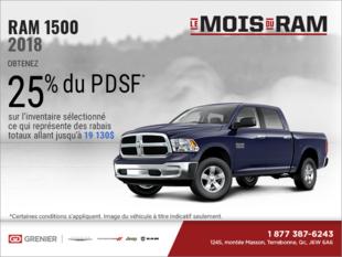 Procurez-vous le RAM 1500 2018