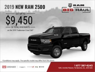 Get the 2019 RAM 2500