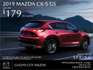 Guelph City Mazda - Get the 2019 Mazda CX-5 Today!