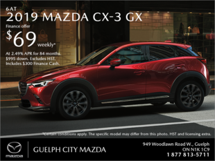 Guelph City Mazda - Get the 2019 Mazda CX-3 Today!