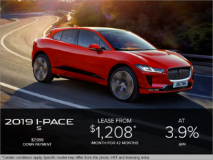 The 2019 Jaguar I-PACE S