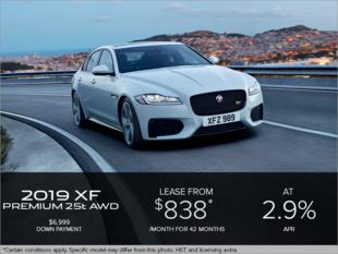 The 2019 Jaguar XF Premium 25t AWD