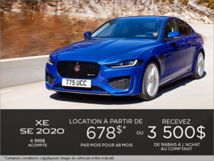 La Jaguar XE 2020