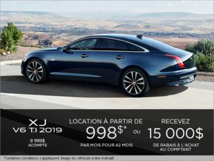 La Jaguar XJ V6 TI 2019