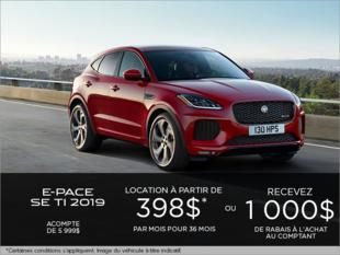 Le Jaguar E-PACE SE TI 2019