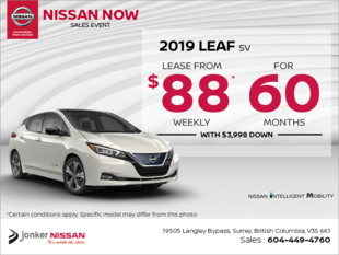 Get the 2019 Nissan Leaf
