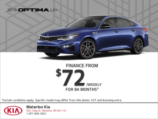 Finance the 2019 Kia Optima!