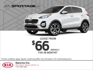 Get the 2020 Kia Sportage
