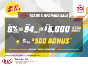 The Kia Trade & Upgrade Sale