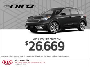 Get the 2019 Kia Niro!