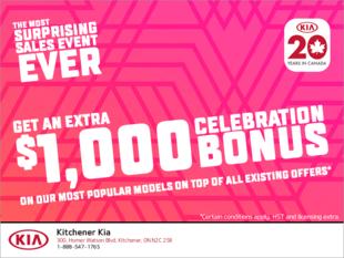Kia 20 years in Canada Event!