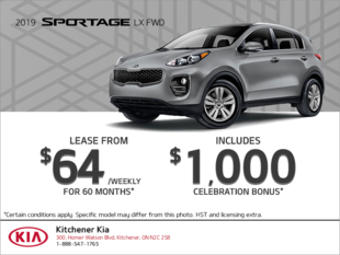 Get the 2019 Kia Sportage