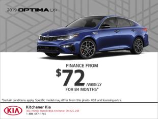 Finance the 2019 Kia Optima!