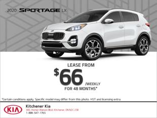 Get the 2020 Kia Sportage