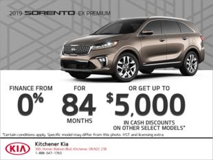 Get the 2019 Kia Sorento!