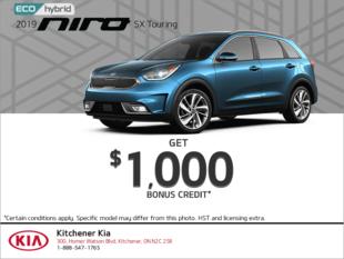 Get a 2019 Kia Niro today!