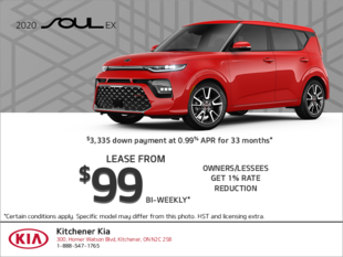 Lease the 2020 Kia Soul!