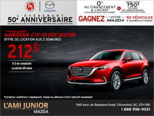 Procurez-vous la Mazda CX-9 2018!