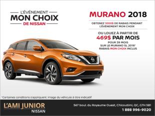 Louez le Nissan Murano 2018!