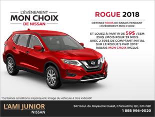 Louez le Nissan Rogue 2018!
