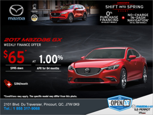 Get the 2017 Mazda6!
