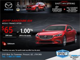 Get the 2017 Mazda6!