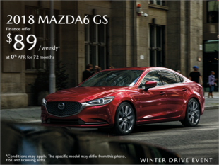 Chatham Mazda - Get the 2018 Mazda6 Today!