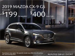 Chatham Mazda - Get the 2019 Mazda CX-9 Today!