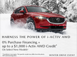 Chatham Mazda - Mazda Winter Drive Event!