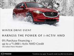 Mazda Winter Drive Event!