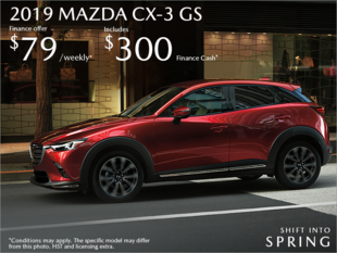 Bay Mazda - Get the 2019 Mazda CX-3 Today!