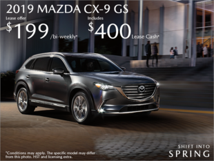 Agincourt Mazda - Get the 2019 Mazda CX-9 Today!