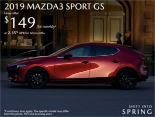 Bay Mazda - Get the 2019 Mazda3 Sport Today!