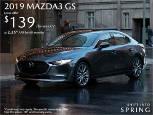 Agincourt Mazda - Get the 2019 Mazda3 Today!