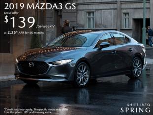 St. Catharines Mazda - Get the 2019 Mazda3 Today!