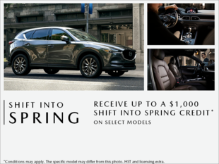 Bay Mazda - Shift into Spring