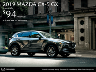Regina Mazda - Get the 2019 Mazda CX-5 today!