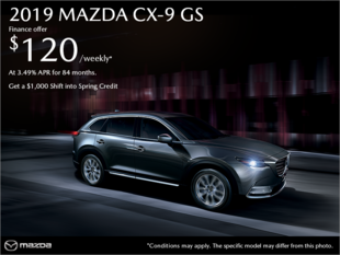 Regina Mazda - Get the 2019 Mazda CX-9 today!