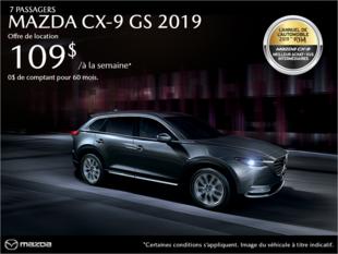 Mazda Gabriel Anjou - Procurez-vous la Mazda CX-9 2019!
