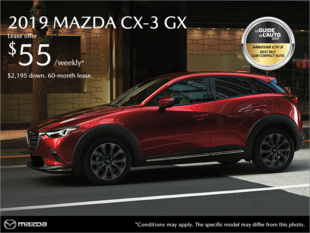 Mazda Des Sources - Get the 2019 Mazda CX-3!