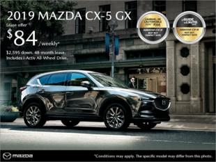 Mazda Des Sources - Get the 2019 Mazda CX-5!