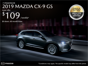 Mazda Des Sources - Get the 2019 Mazda CX-9!