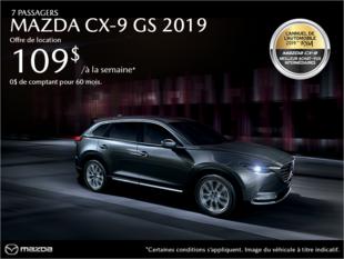 Mazda Drummondville - Procurez-vous le Mazda CX-9 2019!