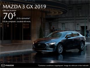 Mazda Drummondville - Procurez-vous la Mazda3 2019!