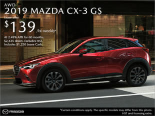 Agincourt Mazda - Get the 2019 Mazda CX-3 Today!