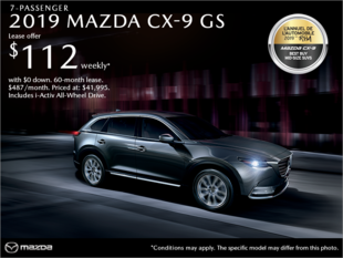 Mazda Joliette - Get the 2019 Mazda CX-9!