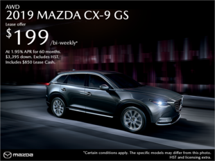 Get the 2019 Mazda CX-9 Today!