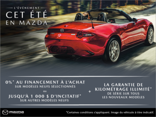 Prestige Mazda - L'événement cet été en Mazda