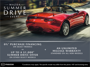 Agincourt Mazda - The Mazda Summer Drive Event
